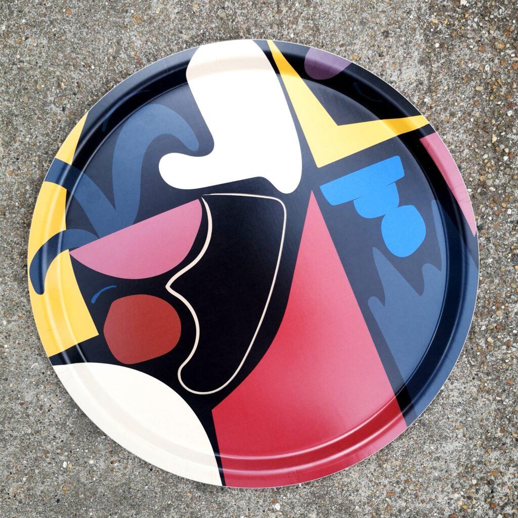 Shapes Round Tray